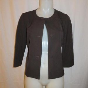 DONCASTER COLLECTION BROWN BLAZER 4